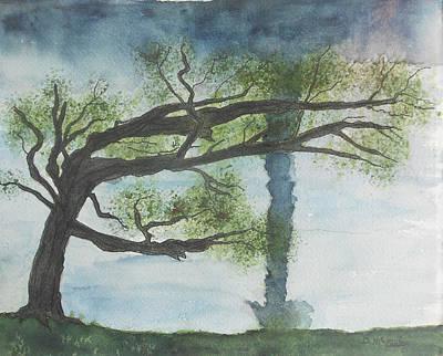 Windblown Painting - Wind by David  McCauley