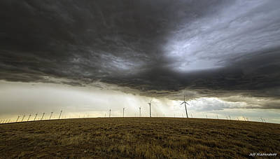 Photograph - Wind Farm by Jeff Niederstadt
