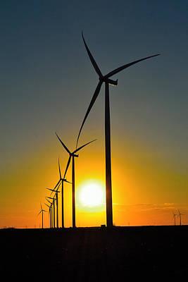 Photograph - Wind Farm by Shannon Harrington
