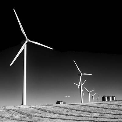 Photograph - Wind Farm by Trever Miller