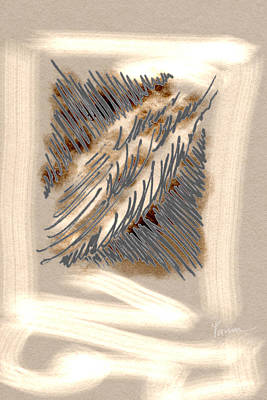 Wall Art - Digital Art - Wind Furrows by Tarun Cherian