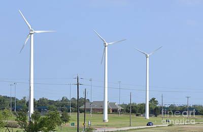 Wind Generators In Denton Original by Ruth  Housley