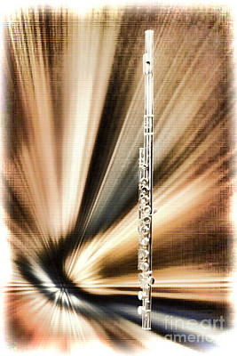 Painting - Wind Instrument Music Flute Painting Photograph 3300.02 by M K  Miller