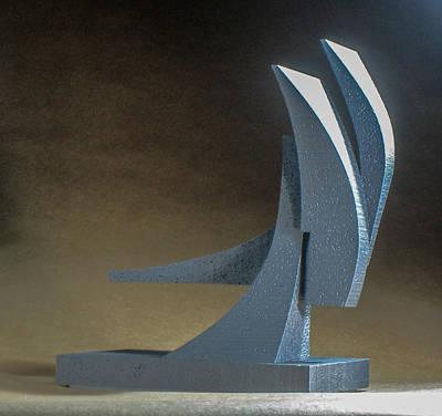 Sculpture - Wind Jammer by Richard Arfsten