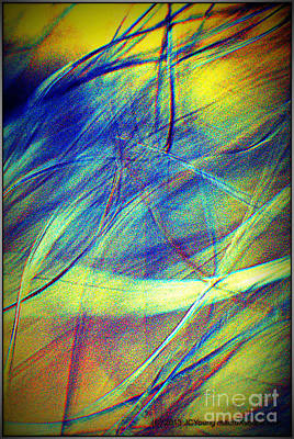 Wind Art Print by JCYoung MacroXscape