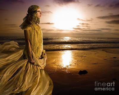 Wind Meditation Original by Angelika Drake