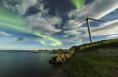 Arctic Photograph - Wind Mill by Frank Olsen