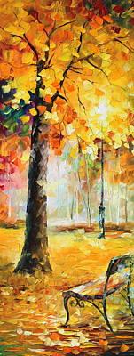 Wind Of Dreams 3 Original by Leonid Afremov