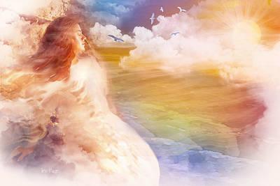 Jennifer Page Mixed Media - Wind Of His Glory by Jennifer Page