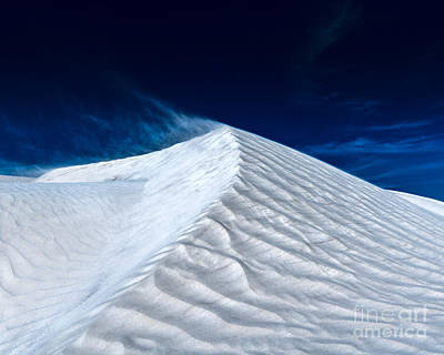 Photograph - Wind Over White Sands by Julian Cook