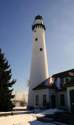 Photograph - Wind Point Lighthouse by Kay Novy