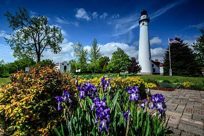Photograph - Wind Point Lighthouse by Randy Scherkenbach