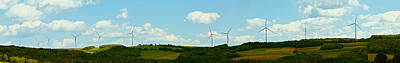 Photograph - Wind Power Energy by Alex Potemkin