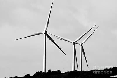 Photograph - Wind Power by Jeremy Hayden