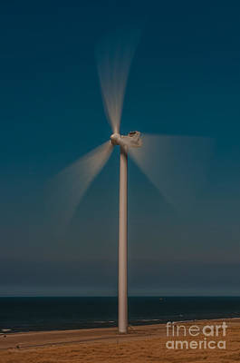 Photograph - Wind Power by Jorgen Norgaard