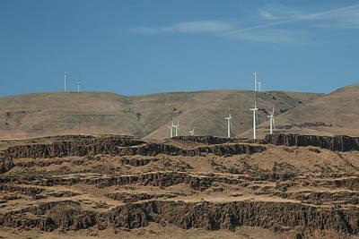 Photograph - Wind Power by Ryan Heffron