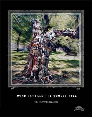 Wind Rattles The Booger Tree Art Print