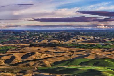 Wind Art Print by Ryan Manuel