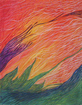Painting - Wind Song by Sherry Lasken