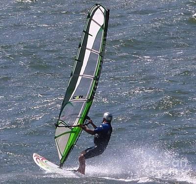 Photograph - Wind Surfer 1 by Susan Garren