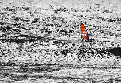 Photograph - Wind Surfing The Southern Oregon Coast by Mick Anderson