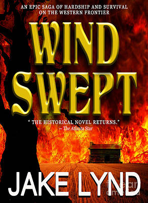 Pocketbook Cover Design Photograph - Wind Swept Book Cover by Mike Nellums