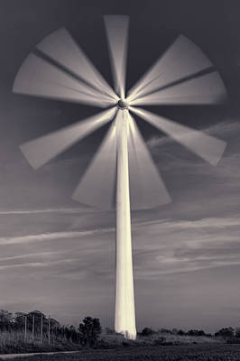 Sweden Photograph - Wind Turbine Flower by EXparte SE