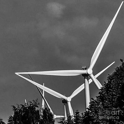 Photograph - Wind Turbine by Michael Canning