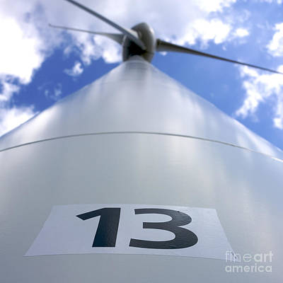 Wind Turbine. No 13 Art Print