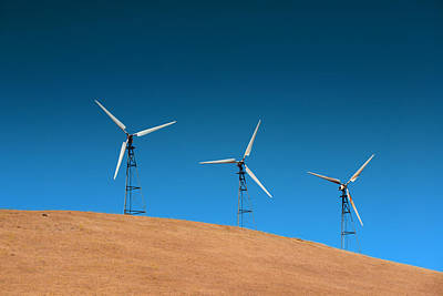 Photograph - Wind Turbine by Songquan Deng