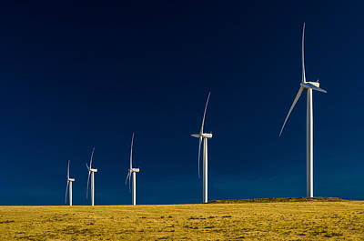 Photograph - Wind Turbines Of Columbia River Gorge by Greg Nyquist