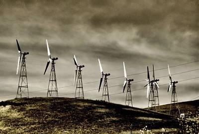 Wind Warriors Iv Art Print by Bob Wall