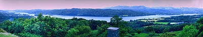 Photograph - Windermere Panorama by Graham Hawcroft pixsellpix