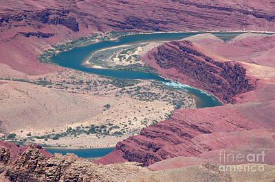 Photograph - Winding Colorado River by Debra Thompson
