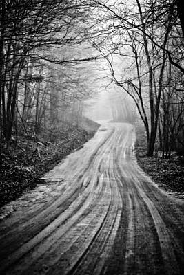 Photograph - Winding Dirt Road by Karol Livote