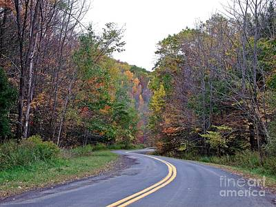 Photograph - Winding Down The Road by Christian Mattison