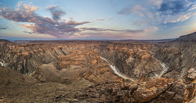 Photograph - Winding Fish River Canyon And Desert by Vincent Grafhorst