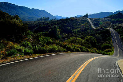 Photograph - Winding Journey by Third Eye Perspectives Photographic Fine Art
