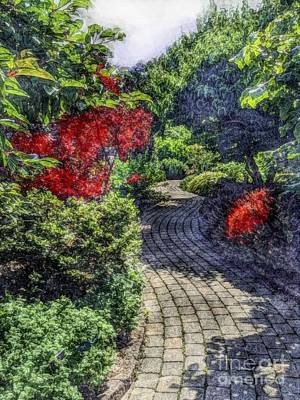 Photograph - Winding Path  by Becky Lupe