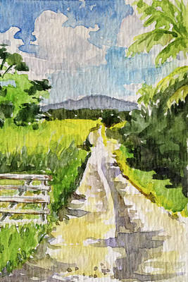 Haleiwa Painting - Winding Road Big Island by Stacy Vosberg