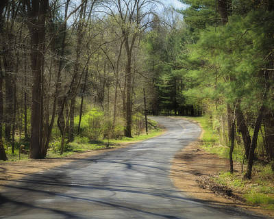 Photograph - Winding Road by Jack R Perry