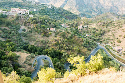 Royalty-Free and Rights-Managed Images - Winding road by Salvatore Pappalardo