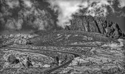 Sky Photograph - Winding Road by Susan Candelario