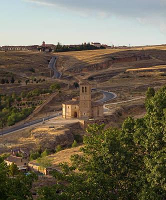 Winding Segovia Roads Art Print by Viacheslav Savitskiy
