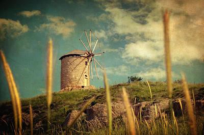 Impressionist Photograph - Windmill 14 48 by Taylan Apukovska