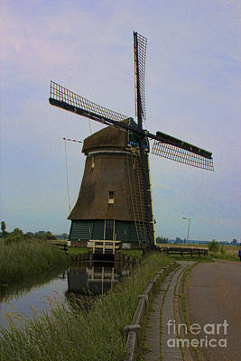 Photograph - Windmill 3 - Amsterdam by Crystal Nederman