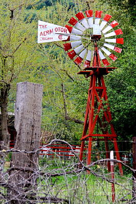 Photograph - Windmill Chicago by Suzanne Oesterling