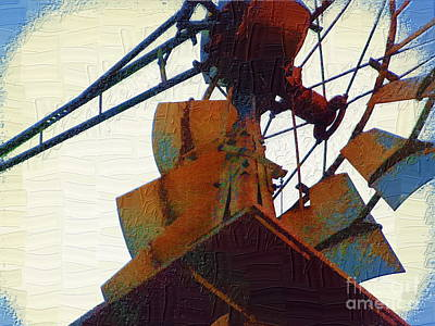 Photograph - Windmill by Diane Miller