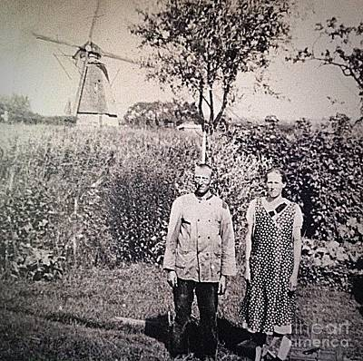 Photograph - Windmill Family by John Potts