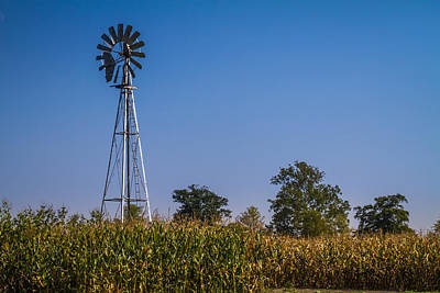 Photograph - Windmill - Horizontal by Ron Pate